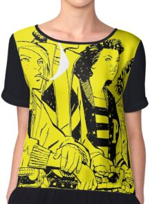 Paper Girls - Comic Chiffon Top