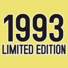 1993 LIMITED EDITION by mcdba