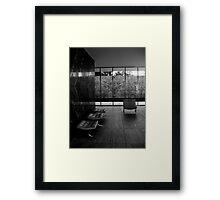 Barcelona Pavilion, Mies van der Rohe Framed Print