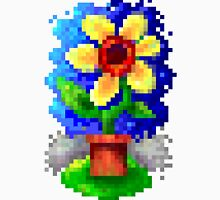 8bit Pixel Art Happy Flower Classic T-Shirt