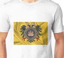 Holy Roman Empire Imperial Crown over Banner of the Holy Roman Emperor Unisex T-Shirt