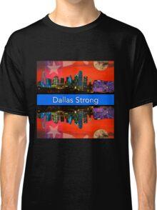 Dallas Strong - Sunset Dallas Skyline Classic T-Shirt