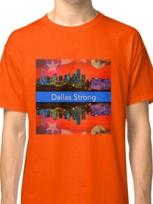 Dallas Strong - Sunset Dallas Skyline Classic T-Shirt