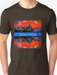 Dallas Strong - Sunset Dallas Skyline Unisex T-Shirt