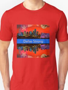 Dallas Strong - Sunset Dallas Skyline Unisex T-Shirt