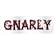 Gnarly! Poster