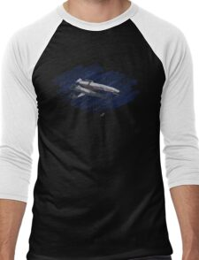The Normandy: Painted in the Stars Men's Baseball ¾ T-Shirt