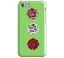 Vector roses. iPhone Case/Skin