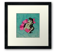 Cute n' Tasty Brains Framed Print