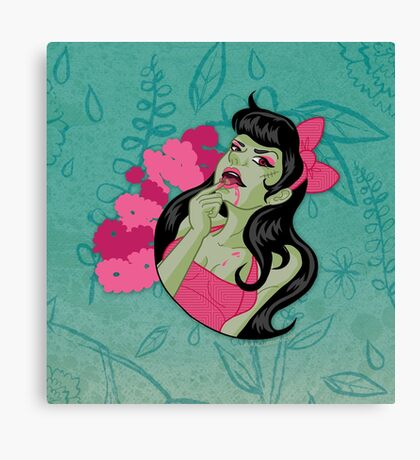 Cute n' Tasty Brains Canvas Print