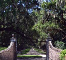 Entrance to Boone Plantation Sticker