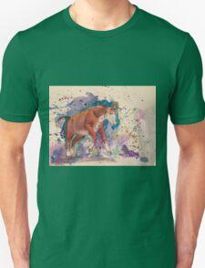 Watercolor cow Unisex T-Shirt