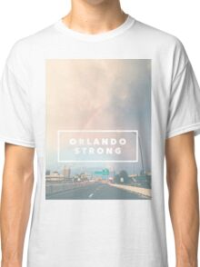 Orlando Strong (rainbow over downtown) Classic T-Shirt