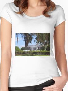 Boone Plantation  Women's Fitted Scoop T-Shirt