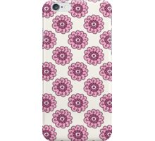 Pink floral seamless pattern. Doodle  beautiful blossom background. Hand drawn wallpaper.  iPhone Case/Skin