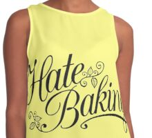 Hate Baking Contrast Tank