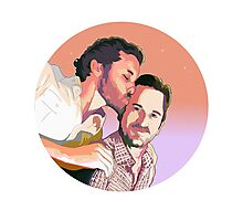Rob Benedict - Richard Speight JR  Photographic Print