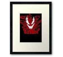 Carnage Red Framed Print