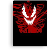 Carnage Red Canvas Print