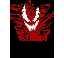 Carnage Red Photographic Print