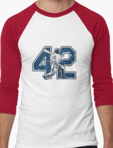 42 - Jackie (vintage) Men's Baseball ¾ T-Shirt