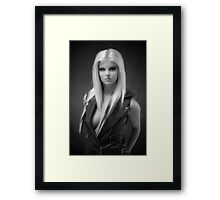 The Famous Leather Jacket Framed Print