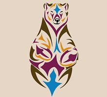 Tribal bear colour Unisex T-Shirt