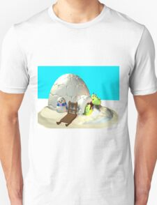 Drachi am Nordpol Unisex T-Shirt