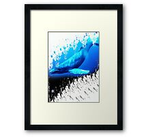 great whale Framed Print