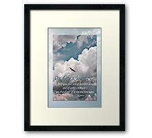 Genesis 27:28 On Life's Journey Framed Print
