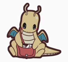 Pokemon - Chibi Dragonite by SeviYummy