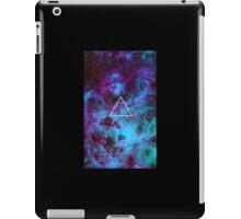Triangle galaxy iPad Case/Skin