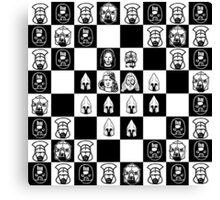 Lord of the chess Canvas Print