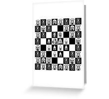 Lord of the chess Greeting Card