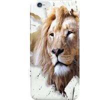 leo the lion iPhone Case/Skin