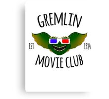 Movie Club  Canvas Print