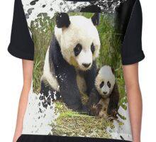 adorable pandas Chiffon Top