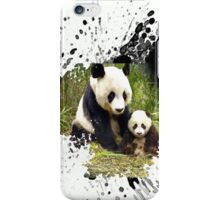 adorable pandas iPhone Case/Skin