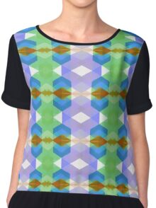 Sun is up (Right in the middle) Chiffon Top