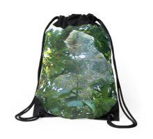 Webbed Tree Drawstring Bag