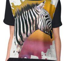 zebra Chiffon Top