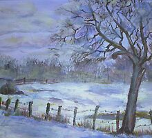 WInter mist by Saga Sabin
