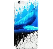 great whale iPhone Case/Skin