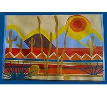 Paper Desert Photographic Print