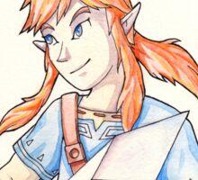 Link - Zelda: Breath of the Wild Sticker