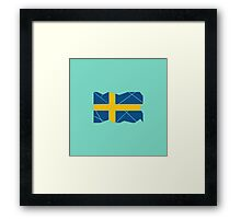 Swedish Patriot Framed Print