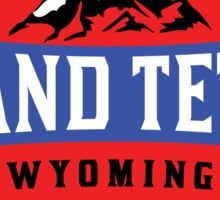 GRAND TETON NATIONAL PARK WYOMING MOUNTAINS Sticker