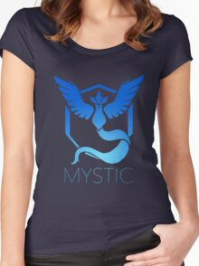 Mystic Team Pokemon Go Women's Fitted Scoop T-Shirt