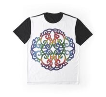 Rainbow Symmetry Graphic T-Shirt