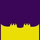 Bat Leggings Purple by Sophersgreen